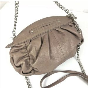 B makowsky leather handbag ~ Crossbody ~ Clutch